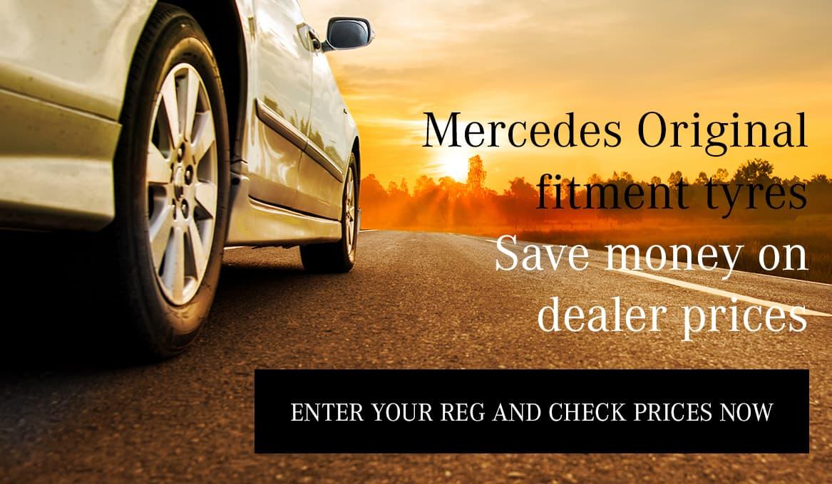 Mercedes Original Fitment Tyres